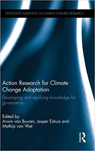 Action Research for Climate Change Adaptation: Developing and Applying Book Cover